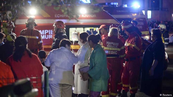 Rumänien: Rettungseinsatz nach Explosion in Bukarester Nachtclub