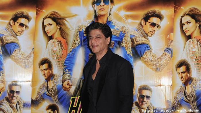 Indischer Bollywood-Star Shah Rukh Khan