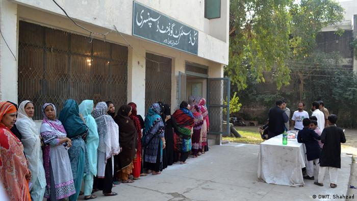 Local government polls in Punjab and Sindh, Pakistan (Photo: DW/T. Shahzad)