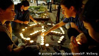 Gedenken an Rabin-Ermordung 2003