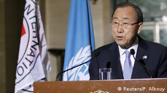 UN Secretary-General Ban Ki-moonBan Ki-Moon