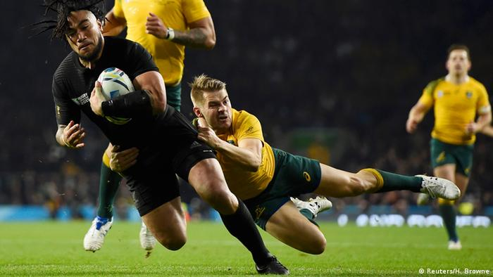 Rugby World Cup 2015 Finale Neuseeland gegen Südafrika (Reuters/H. Browne)