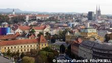 Kroatien - Stadtansicht von Zagreb