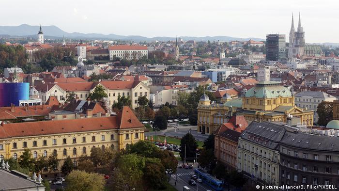 Stadtansicht von Zagreb (Foto: Borna Filic/PIXSELL)