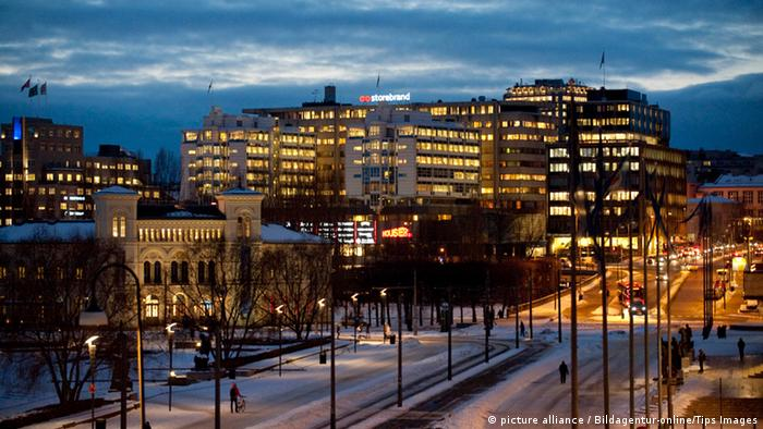 La ciudad de Oslo, en Noruega.