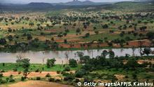 Burkina Faso Landschaft in der Nähe von Ouagadougou