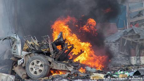 Somalia Mogadischu Bombenanschlag Sahafi Hotel Terror