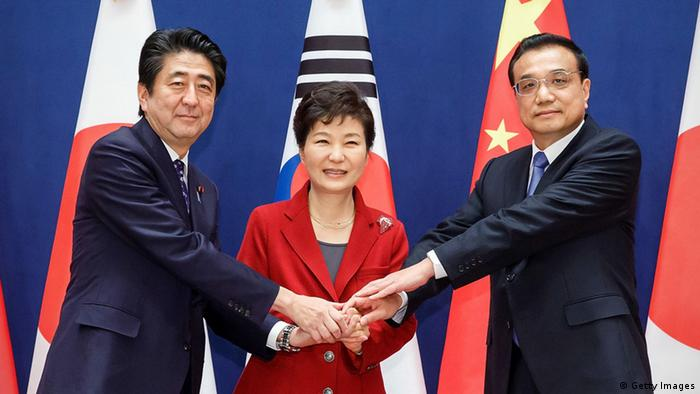 Südkorea Seoul Trilateraler Gipfel Japan China
