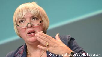 H Κλαούντια Ροτ, αντιπρόεδρος της γερμανικής βουλής