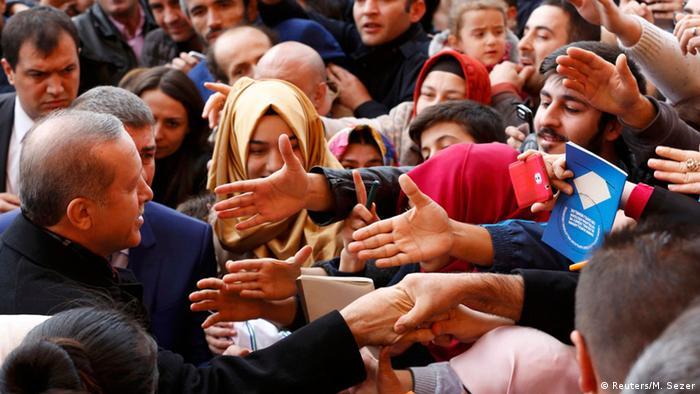 Türkei Wahlen Erdogan Anhänger
