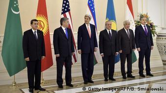 Usbekistan Samarkand John Kerry C5+1 Treffen