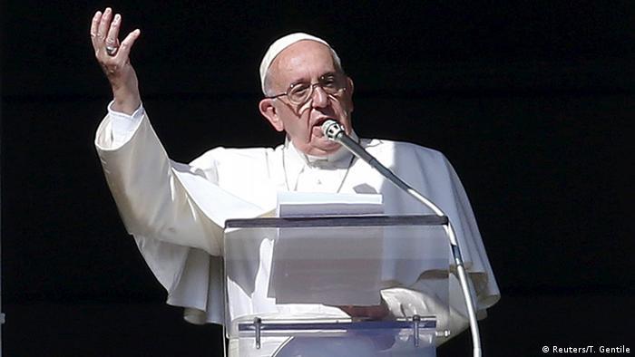 Vatikan Angelusgebet des Papstes