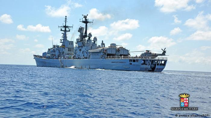 Libyen Italien italienische Marine (picture-alliance/ROPI)