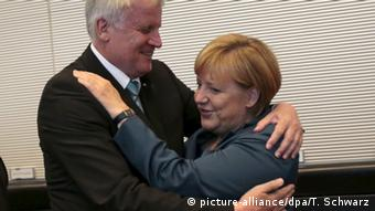 Seehofer and Merkel