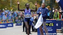 USA New York Marathon - Mary Keitany