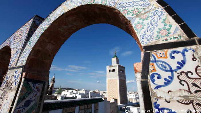 Мінарет мечеті Укба, Туніс
