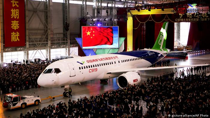 China Passagierflugzeug C919