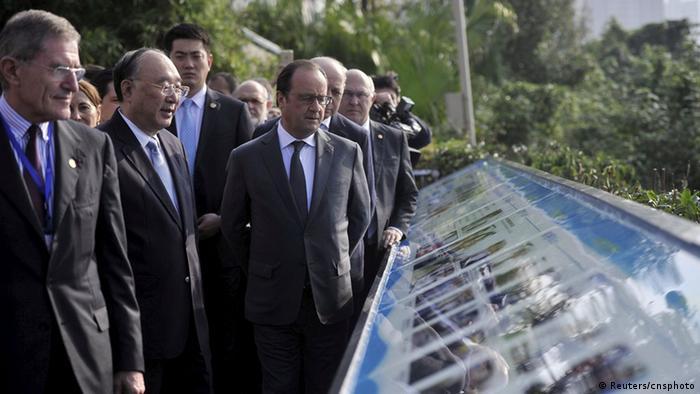 China Besuch Francois Hollande