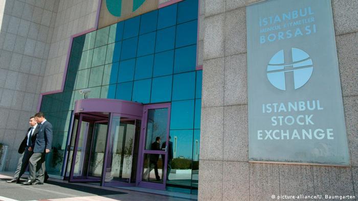 Türkei Börse in Istanbul