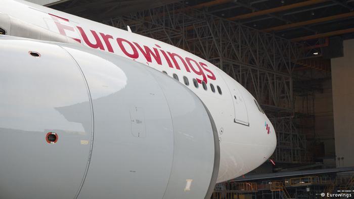 Deutschland Airbus A 333 Eurowings