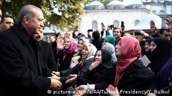 Türkei Wahlerfolg Erdogan Unterstützer Symbolbild