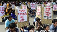 Bangladesch neuer Angriff auf säkulare Verleger und Autoren Demo