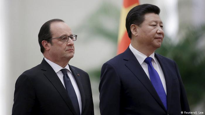 China Besuch Francois Hollande Xi Jinping