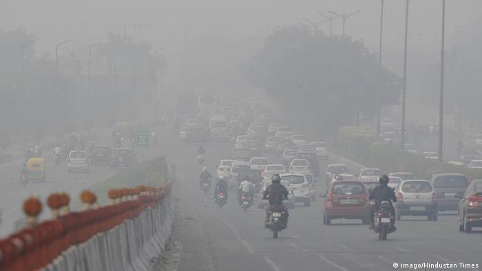 Indien Smog in Neu Delhi