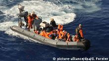 Mittelmeer Flüchtlinge gerettet