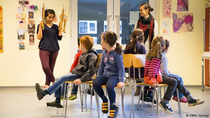 children in a classroom Copyright: Gemima Harvey