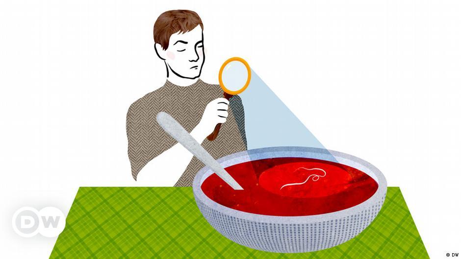 Das Haar in der Suppe suchen