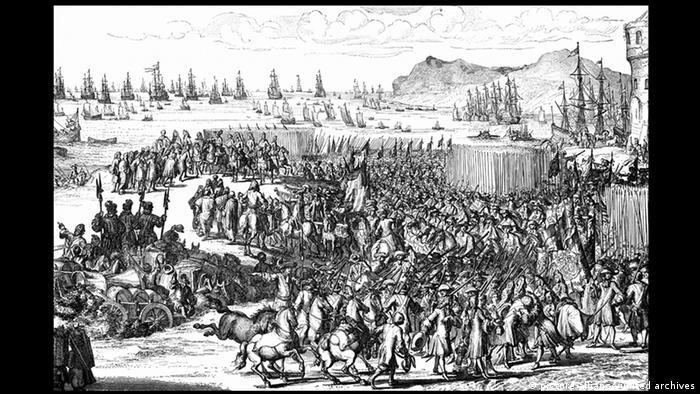 Großbritannien William III Glorious Revolution 1688