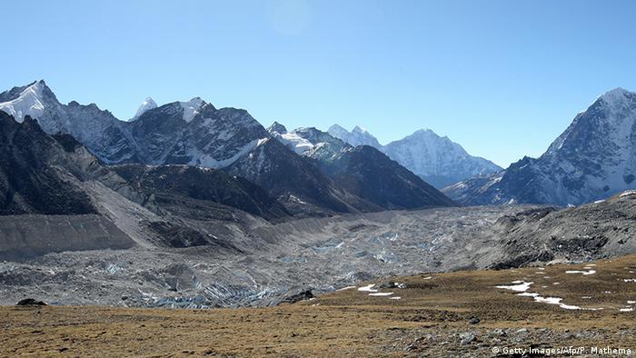 Himalaya Kathmandu glacier