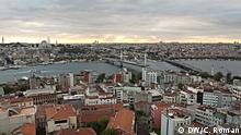 31.10.15 Stadt-Panorama Istanbul; Copyright: DW/C. Roman
