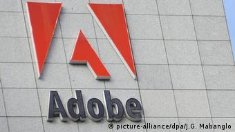 Adobe USA Kalifornien Hauptsitz Gebäude Außenaufnahme