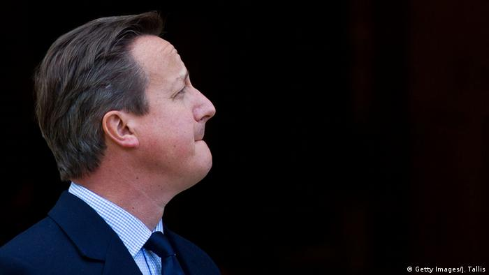 England Ministerpräsident David Cameron (Photo by Justin Tallis-Pool/Getty Images) +++ Copyright: Getty Images/J. Tallis