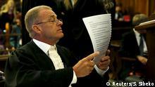 Südafrika Oscar Pistorius Berufungsprozess Gerrie Nel Staatsanwalt