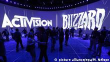 Activision Blizzard Stand bei der Messe in Los Angeles