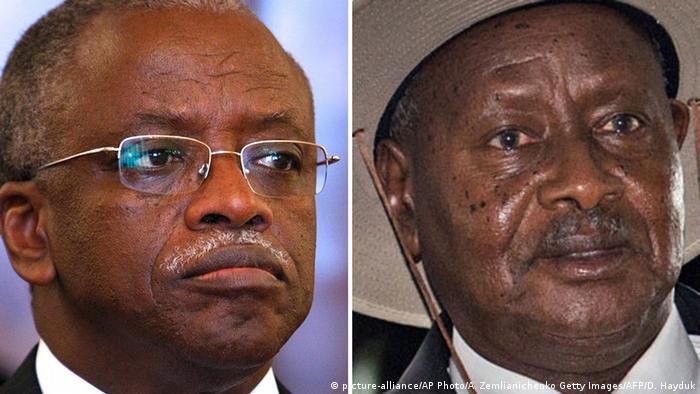 Uganda Amama Mbabazi und Yoweri Museveni