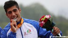Titel: der iranische Kajakfaher Said Fazl Ola, der 2014 bei den Asienspielen Silber gewonnen hat und nun in Deutschland Asyl beantragt hat. Schlagwörter: Iran, Kajak, Kajaksport, Asyl, Said Fazl Ola Quelle: shabnamnews (Iran) Lizenz: frei
