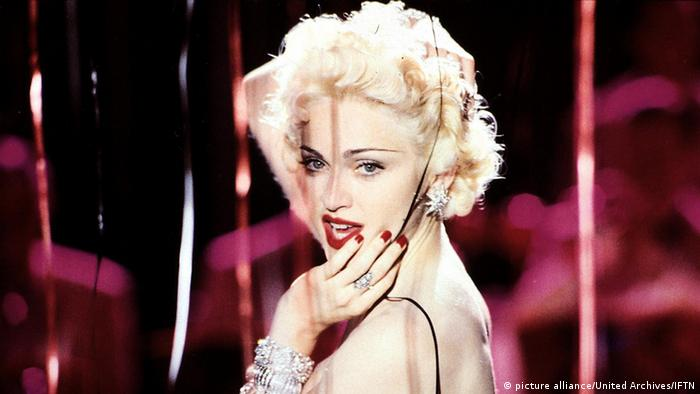 USA Film Dick Tracy mit Madonna