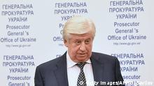 Ukraine Wiktor Schokin Generalstaatsanwalt