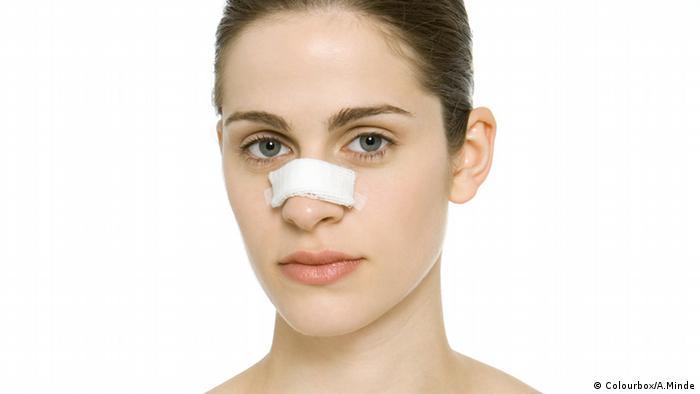 Nasenkorrektur, Nase, Pflaster