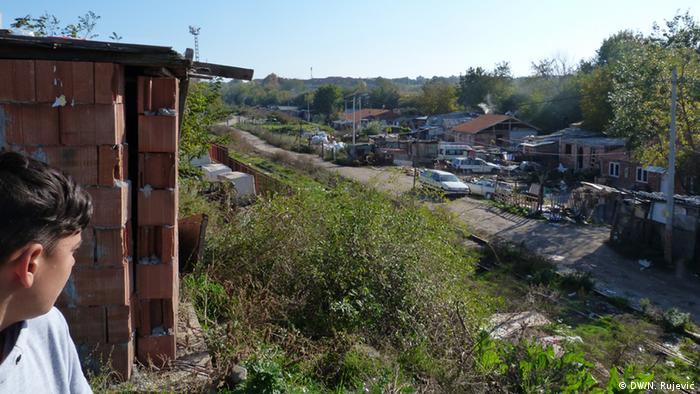 Romsko naselje u Zemunu