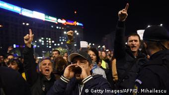 Rumänien Bukarest Proteste