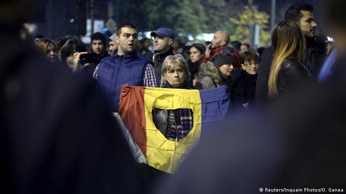 Rumänien Proteste und Forderung nach Rücktritt der Regierung