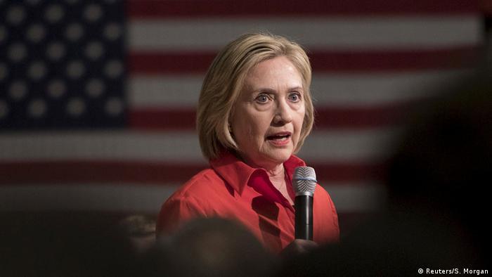 USA Wahlkampagne Demokraten Hillary Clinton
