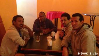Group of Eritrean men