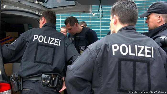 Полицейские в Берлине