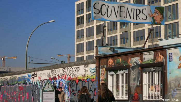 Along the Berlin Wall, Copyright: Jefferson Chase